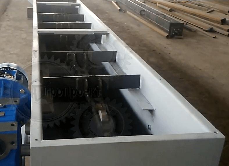 Конвейер для горячих грузов