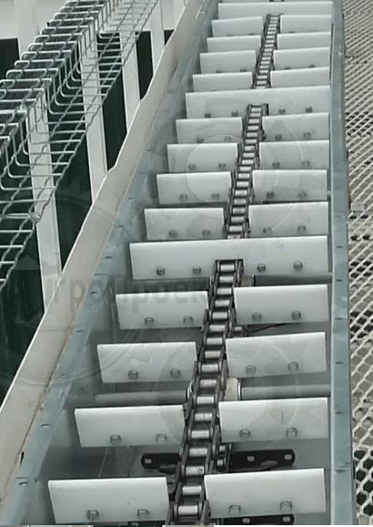Конвейер для сыпучих грузов