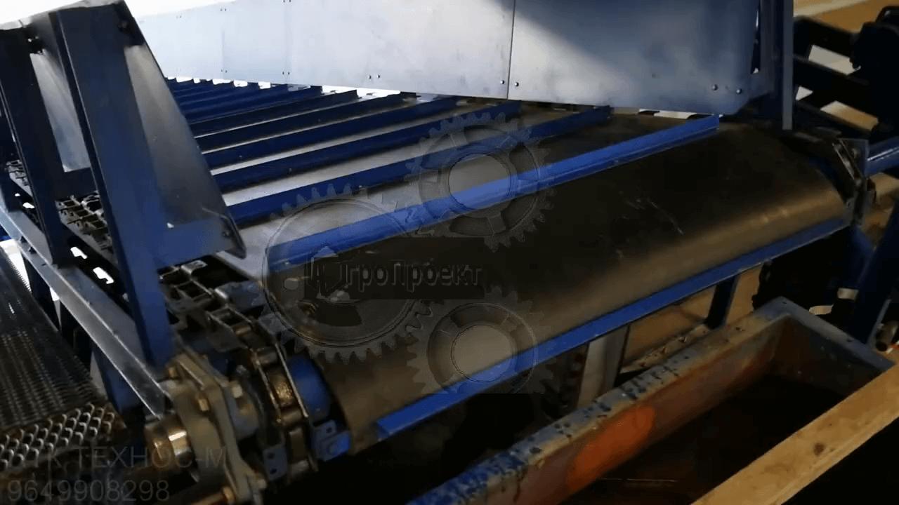 Конвейер ленточно-цепной для отходов или мусора
