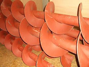 Шнеки для винтовых конвейеров